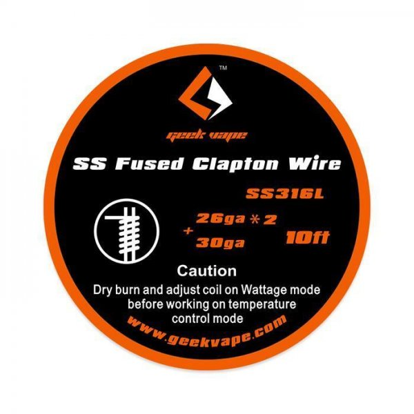 GeekVape SS316L Fused Clapton Wire