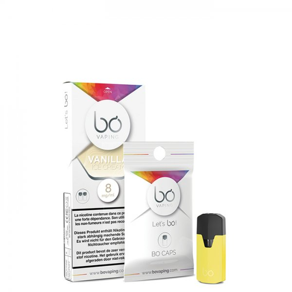 Bo Vaping Pod Vanilla Ice Cream (2er Pack)