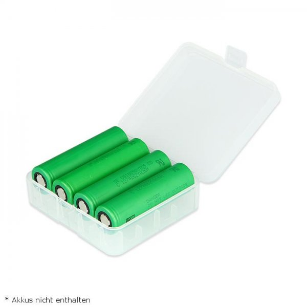 Akkutransportbox 18650, 26650 Battery Case
